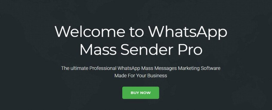 Mass WhatsApp Sender for WhatsApp Marketing