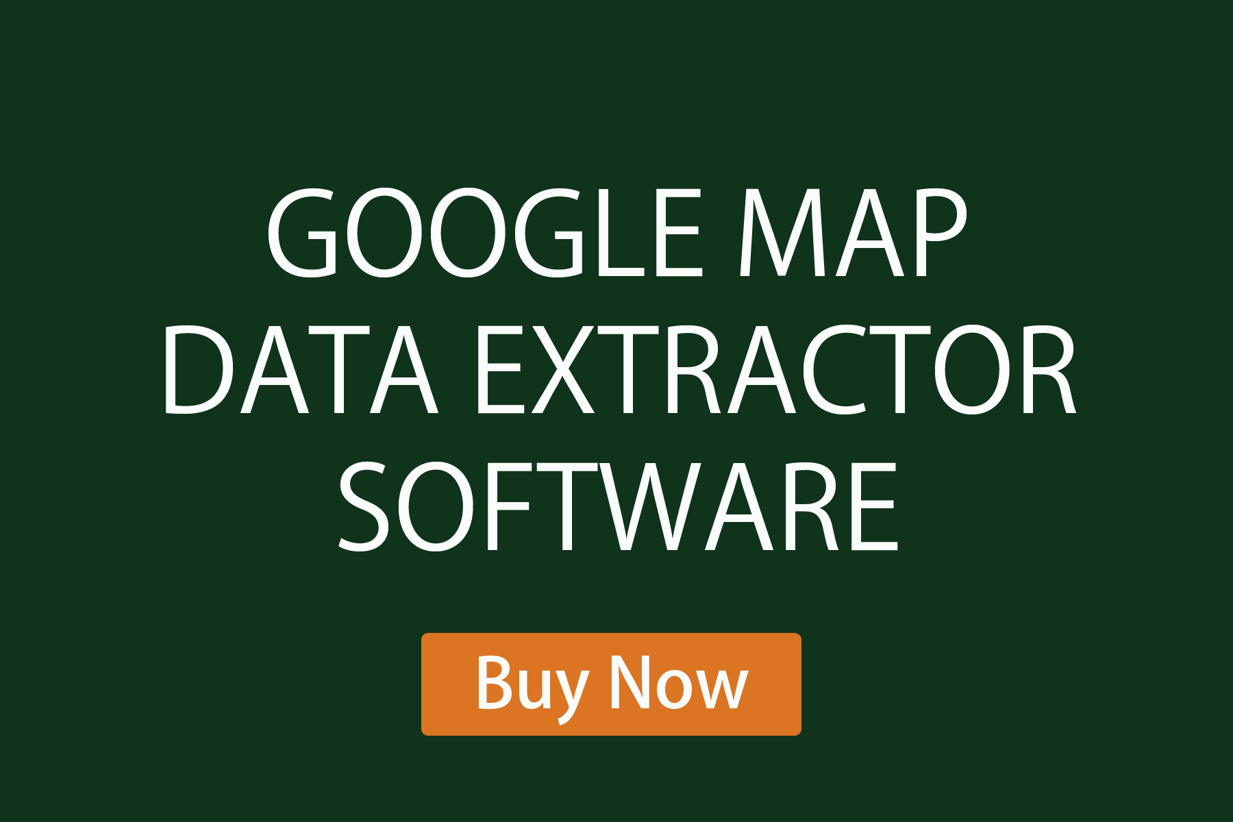 Google maps data extractor software